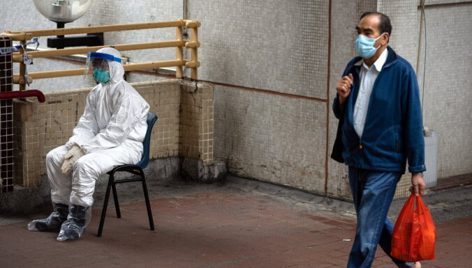 No koronavīrusa paveida izārstējies vismaz 4191 cilvēks