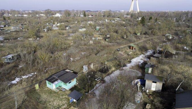 Rīgas dome atbalsta mazdārziņu iznomāšanas procedūras atvieglošanu