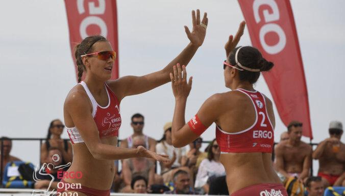 'ERGO Open' pludmales volejbola tūre debitēs Daugavpilī