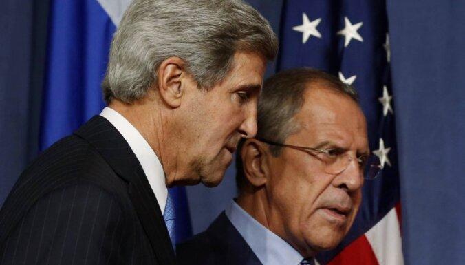 Керри отказался обсуждать с Лавровым ситуацию в Украине