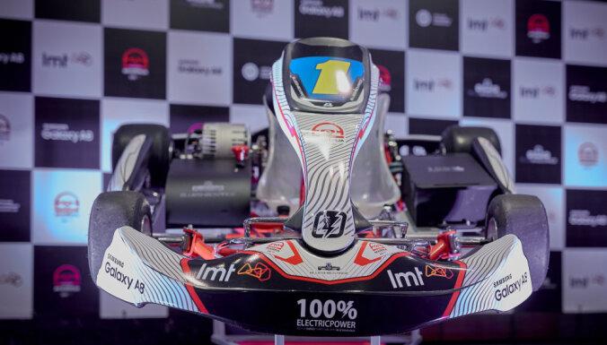 Latvija pievienojas elektrisko kartinga čempionātu pionieriem
