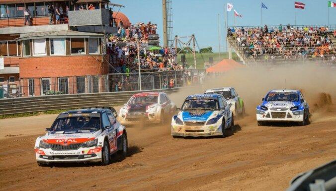 Latvijas autokrosa čempionāts noslēgsies svētdien Bauskā