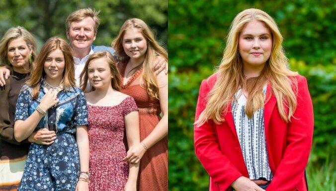 Nīderlandes kroņprincese drīkstēs precēt sievieti un tik un tā būt valdniece