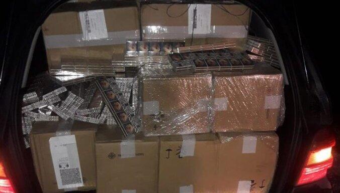 ФОТО. Задержана организованная группа, возившая контрабанду, изъято 254 000 евро