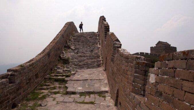 Gandrīz trešdaļa Lielā Ķīnas mūra ir jau zudusi