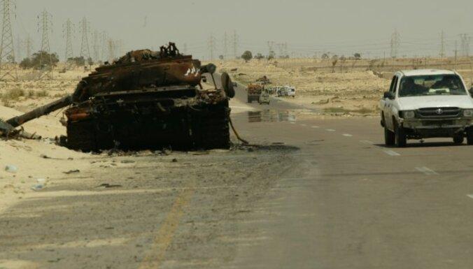 Наступление войск Каддафи на Мисурату провалилось