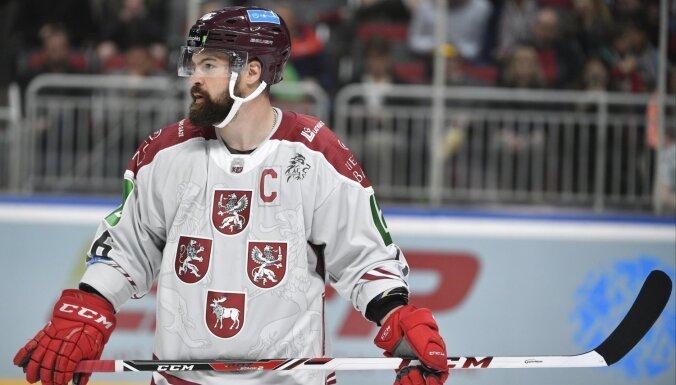 Хоккеисты сборнной Латвии перед домашним ЧМ провели фотосессию и выбрали капитана