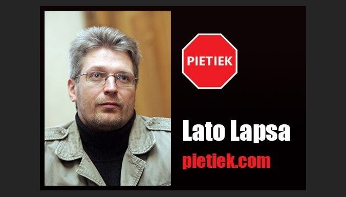 Lato Lapsa: Ne spēks un teikšana, bet pēks un d...šana