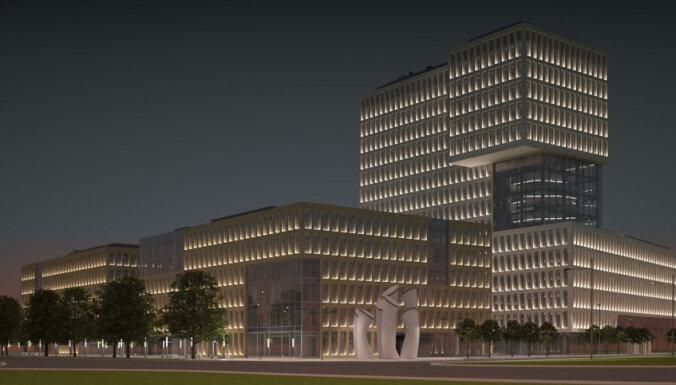 Утвержден проект нового главного здания ABLV Bank на территории New Hanza City