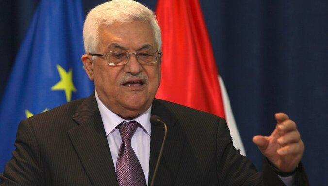 Abass palestīniešiem: mums tagad ir valsts