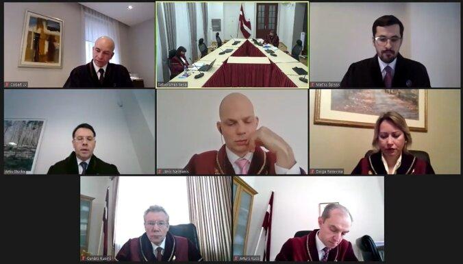 Video: ST spriedums pirmajā lietā par novadu reformu būs marta vidū (plkst.12.23)