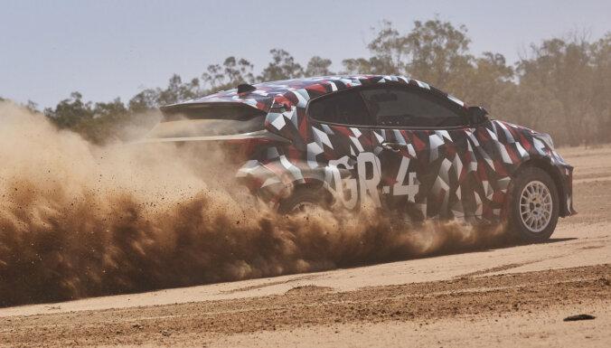 WRC iedvesmotais 'Toyota GR Yaris' debitēs janvārī