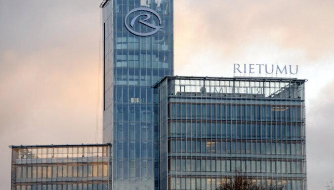 'Rietumu bankā' noguldījumu apmērs pusgadā samazinājies par 1,3 miljardiem eiro