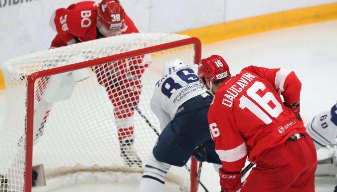 Daugaviņa un Karsuma pārstāvētā 'Spartak' papildlaikā izrauj uzvaru pār Indraši