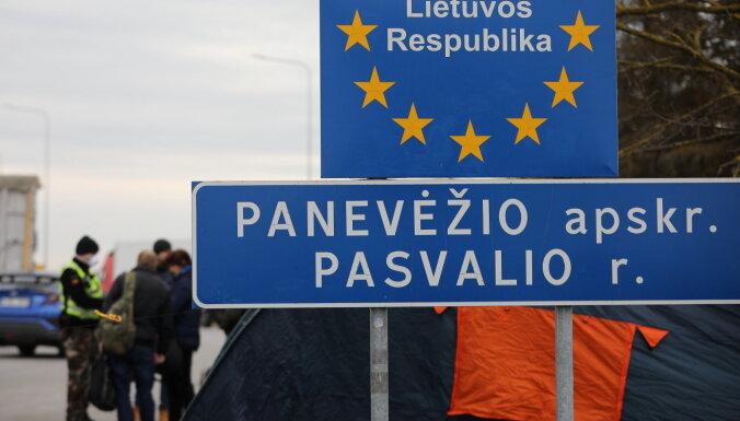 С 7 декабря запрещены пассажирские перевозки в Литву