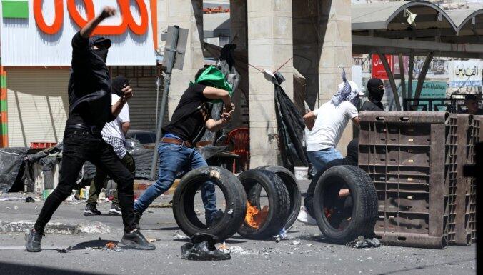 Vācija nosoda 'Hamas' teroraktus Izraēlā un antisemītiskās demonstrācijas
