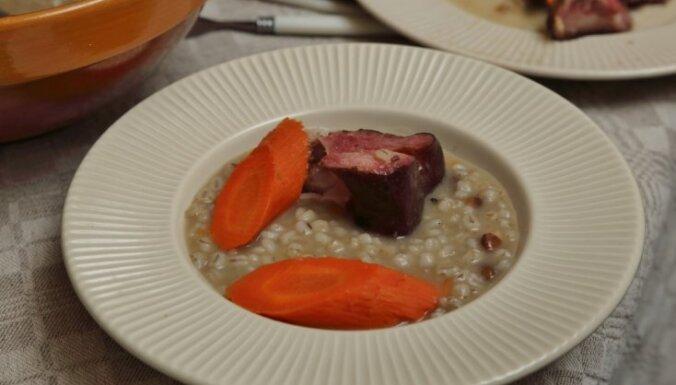 Вкусы Суйтского края: суп с перловкой – zīdenis или atlaupene