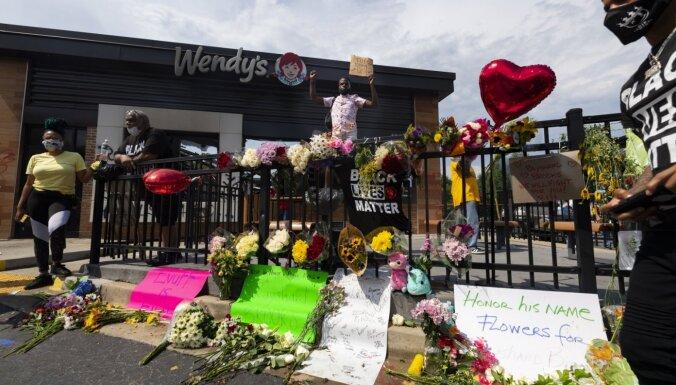 Полиция Атланты обнародовала кадры, предшествовавшие гибели афроамериканца