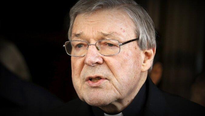 Pedofīlijā apsūdzētais Austrālijas katoļu līderis uzskata, ka viņu nomelno