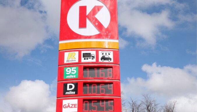 'Circle K' skaidro degvielas cenu atšķirības Latvijā un Lietuvā