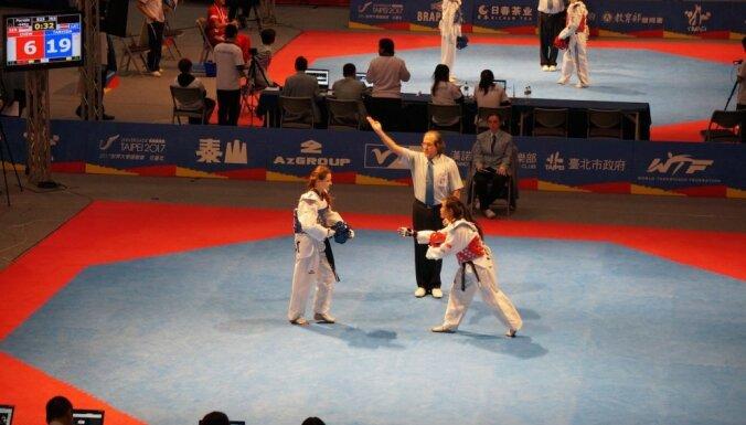 ВИДЕО: Впервые в истории таэквондо у Латвии — медаль на чемпионате мира