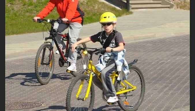 Ventspils Jaunrades nama pagalmā notiks velosacensības