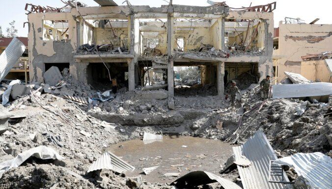 Sprādzienā Kabulā nogalināti 14 cilvēki, 145 ievainoti