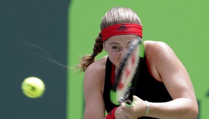 Кубок Федерации: Остапенко победила Макарову, Севастова проиграла