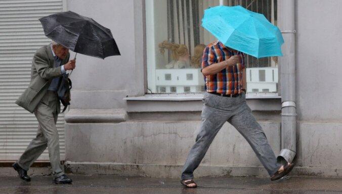 В четверг местами ожидается дождь
