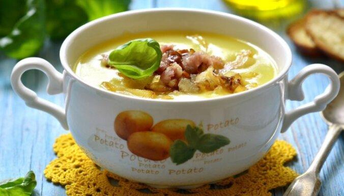 Parmantjē – maiga kartupeļu krēmzupa