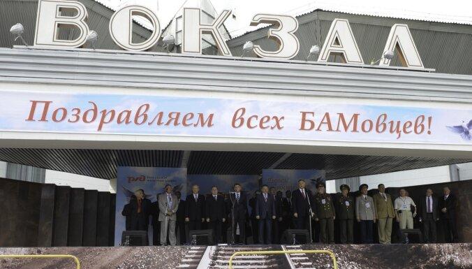 Krievijā apsver likt ieslodzītajiem celt BAM
