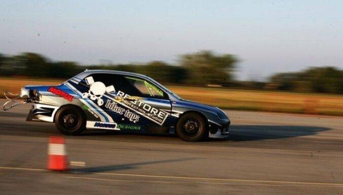 Ar Latvijā tapušo Eiropā ātrāko 'Mitsubishi Evo 9' Ungārijā uzstāda jaunu rekordu