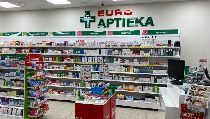 Один из работников Euroaptieka на ул. Слокас заболел Covid-19, аптека временно закрыта