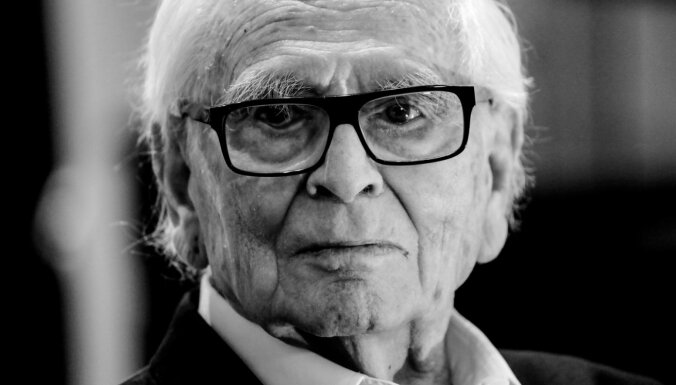 Miris franču modes dizainers Pjērs Kardēns