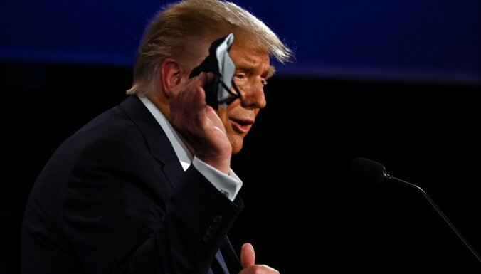 Трамп мог скрыть информацию о положительном тесте на коронавирус