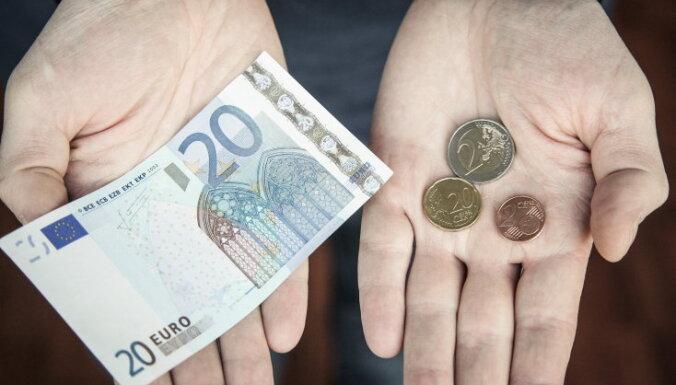 За полтора года в Латвии изъято 80 000 фальшивых евро