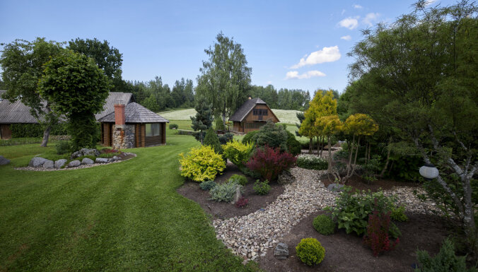 Foto: Rēzeknes novada skaistākie īpašumi un krāšņākie dārzi