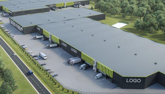 Vizualizācija: Lidostas 'Rīga' tuvumā taps energoefektīvs noliktavu un biroju komplekss