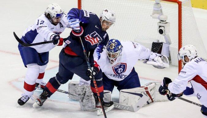 Сборные Канады и США выиграли первые матчи на чемпионате мира с общим счетом 15:1