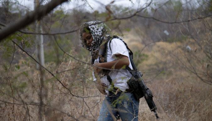 Meksikā pirms vēlēšanām jūnijā palielinājusies gangsteru grupējumu vardarbība