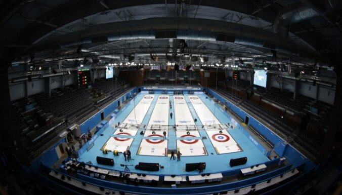 Latvijas vīriešu kērlinga izlase zaudē olimpisko spēļu priekškvalifikācijas turnīra trešajā spēlē