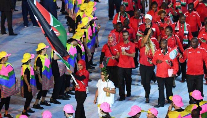 Kenya s flag bearer Shehzana Anwar