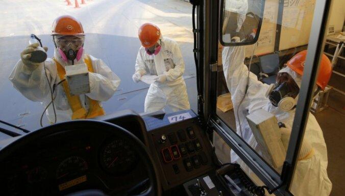 Gruntsūdeņi apgrūtina Fukušimas AES sakopšanu