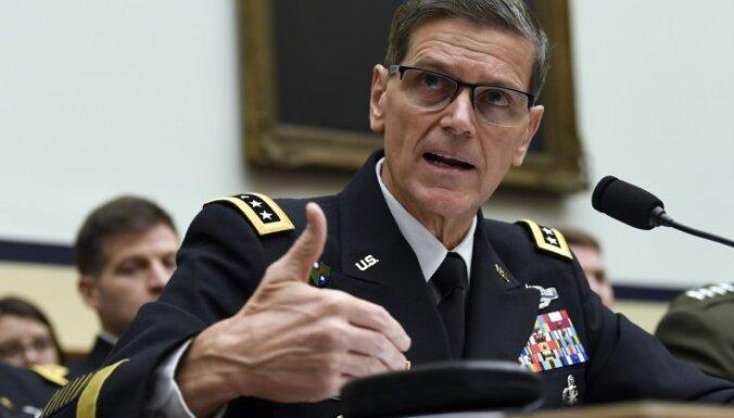 Cīņa pret 'Daesh' ne tuvu nav beigusies, pārliecināts ASV ģenerālis