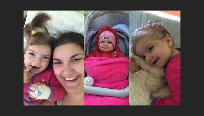 Бескровная операция на сердце двухлетней Беатрисы прошла успешно