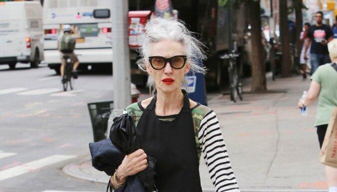 Sievietes jebkurā vecumā ir skaistas: 10 slavenas modeles krietni gados