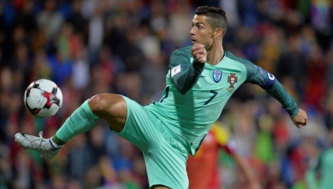 Ronaldu nepalīdzēs Portugālei arī Nāciju līgas spēlēs novembrī