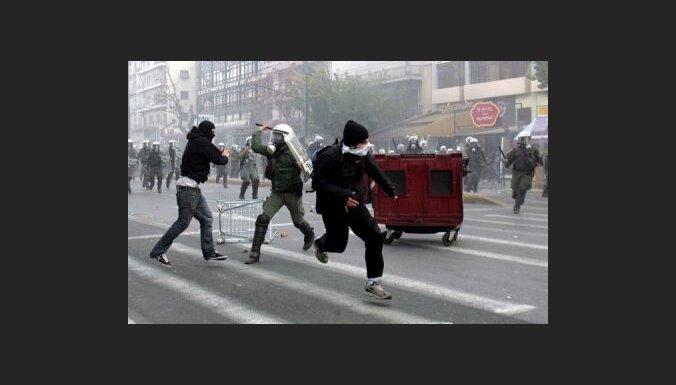 Grautiņi Grieķijā var turpināties vairākus mēnešus