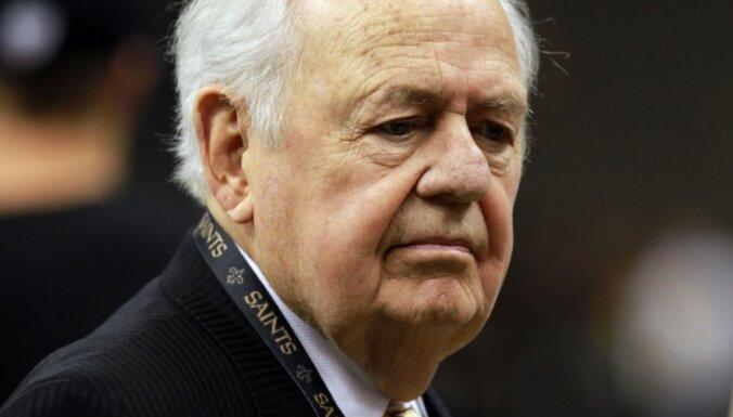Miris Ņūorleānas NBA un NFL klubu īpašnieks Toms Bensons