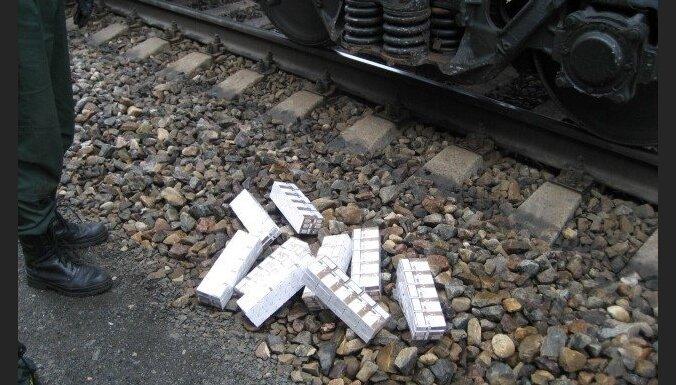 Likvidē cigarešu kontrabandas kanālu no Baltkrievijas uz Latviju